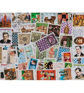 50 Schach Briefmarke