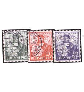 Briefmarken Deutsche Zonen 1945-1949 gestempelt mit Nr. 103-105 Briefmarke