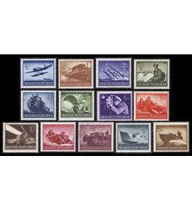 Deutsches Reich postfrisch ** mit Nr. 873-885 Briefmarke