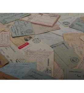 Deutsche Feldpost 1914/1918 5 Belege Briefmarke