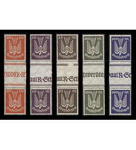 Deutsches Reich Nr. 263-267ZS postfrisch