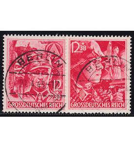 Deutsches Reich Nr. 909-910 gestempelt ohne Obligo Briefmarke