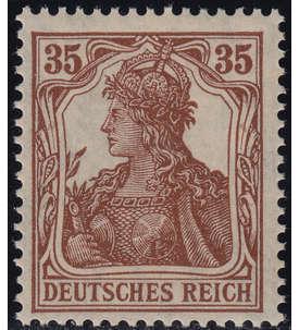 Deutsches Reich Nr. 103c postfrisch geprüft und signiert Weinbuch Briefmarke