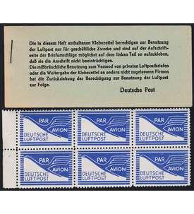 Deutsche Post JEIA-Markenheft Briefmarke