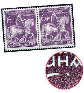 Deutsches Reich Nr. 907 VI postfrisch Briefmarke