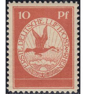 Deutsches Reich postfrisch mit Nr. I Briefmarke