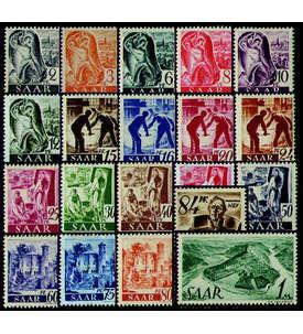 Saar Nr. 206-225 postfrisch ** Briefmarke