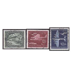 3. Reich gestempelt mit Nr. 866-868 Briefmarke