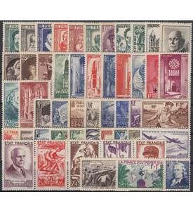 Frankreich aus 1939-1944 postfrisch ** Briefmarke