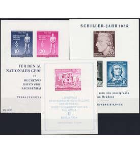 DDR Block 10-12 postfrisch ** Briefmarke
