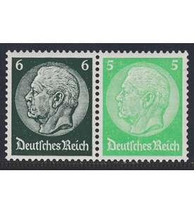 Deutsches Reich Zusammendruck W83 postfrisch ** Hindenburg 1939 (6+5) Briefmarke