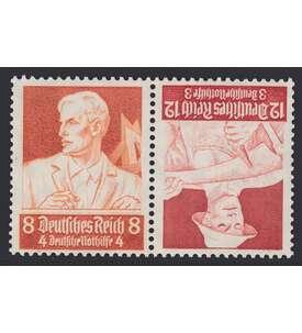 Deutsches Reich Zusammendruck K24 postfrisch ** Nothilfe 1934 Stände (8+12) Briefmarke
