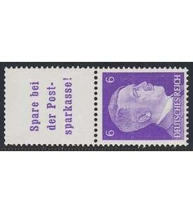 Deutsches Reich Zusammendruck S282 postfrisch Hitler 1941 (A13.4+6) Briefmarke