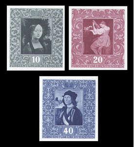 Liechtenstein Nr. 278-280 postfrisch **