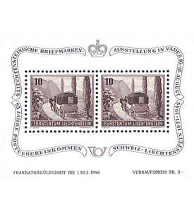 Liechtenstein Block Nr. 4 postfrisch **
