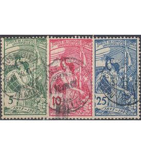 Schweiz Nr. 71-73 gestempelt