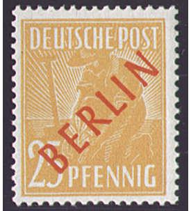 Goldhahn Berlin Schwarzaufdrucke gestempelt 2,6,8,10,12,24,30,40 PFG Briefmarken f/ür Sammler