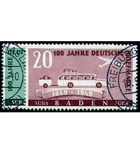 Französische Zone Baden Nr. 54-55 gestempelt