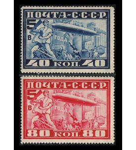 Sowjetunion Nr. 390-391 ungestempelt