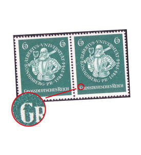 Deutsches Reich Nr. 896 f 37 postfrisch