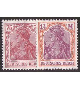 Deutsches Reich Nr. 197-198