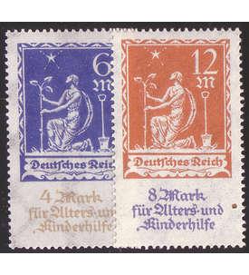 Deutsches Reich Nr. 233-234