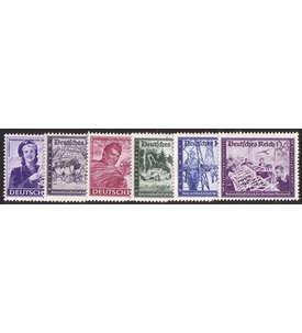 Deutsches Reich Nr. 888-893