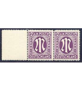 Bizone Nr. 15 aAzL postfrisch ** Briefmarke
