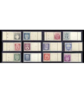 Frankreich Nr. 564-575 postfrisch ** mit Leerfeld Briefmarke