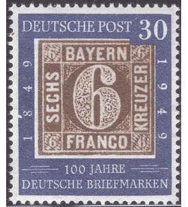BRD Bund Nr. 115 II postfrisch ** Plattenfehler Briefmarke
