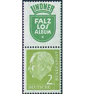 5+Z+R5+2 Goldhahn BRD Bund Zusammendruck WZ12 postfrisch ** Heuss 1956 Briefmarken f/ür Sammler
