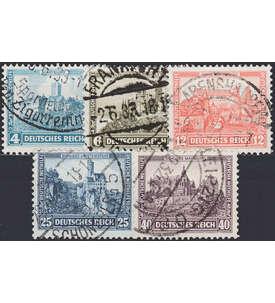 Deutsches Reich Nr. 474-478 gestempelt
