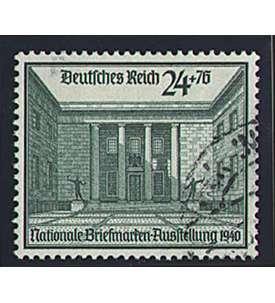 Deutsches Reich Nr. 743 gestempelt