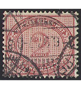 Deutsches Reich Nr. 37 gestempelt