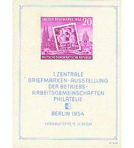 DDR Block 10 postfrisch