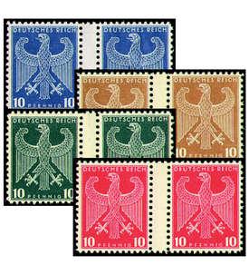Deutsches Reich Probedrucke 10 Pfennig