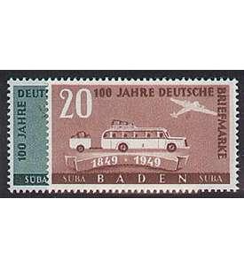 Französische Zone Baden Nr. 54-55