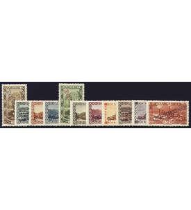 Saar Dienstmarken Nr. 22-32