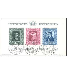 Liechtenstein Block Nr. 5 gestempelt