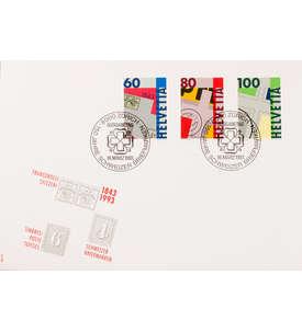 Schweiz Nr. 1496-1498 FDC Ersttagsbrief