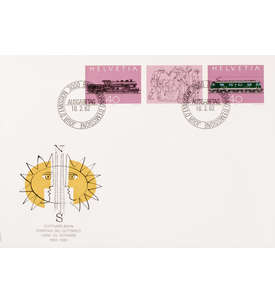 Schweiz Nr. 1214-1215 FDC Ersttagsbrief