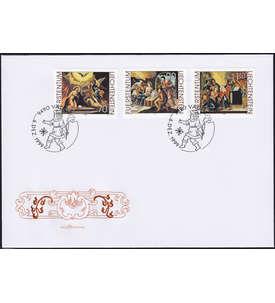 Liechtenstein Nr. 1217-19 FDC Ersttagsbrief
