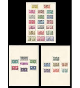 BRD Bund Nr. 177-1196, 259-265, 302-306 gestempelt als Paar Briefmarke