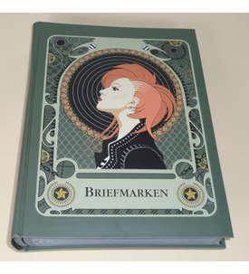 GOLDHAHN-Luxus-60 Seiten Briefmarkenalbum Einsteckbuch