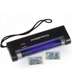 LEUCHTTURM UV-Handlampe zur Fluoreszenzbestimmung  für Briefmarken