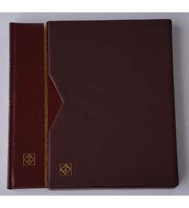 Leuchtturm Premium 32 schwarze Seiten A4 Briefmarkenalbum  für Briefmarken