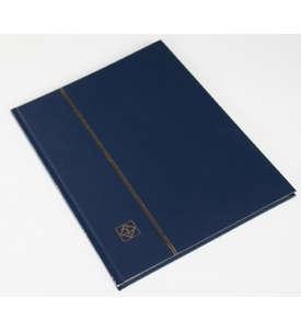 LEUCHTTURM Einsteckalbum 16 weiße Seiten, dunkelblauer Einband  für Briefmarken