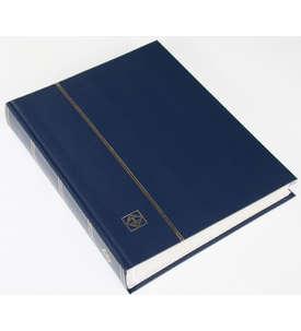 LEUCHTTURM Einsteckalbum 64 weiße Seiten, dunkelblauer Einband  für Briefmarken