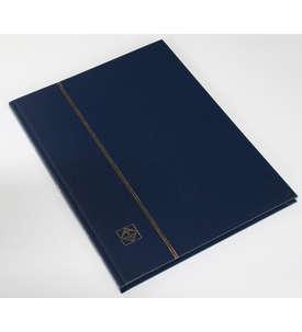 LEUCHTTURM Einsteckalbum 16 schwarze Seiten, dunkelblauer Einband  für Briefmarken