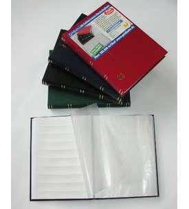 LEUCHTTURM-Luxus-60 weiße Seiten A4 Briefmarkenalbum  für Briefmarken